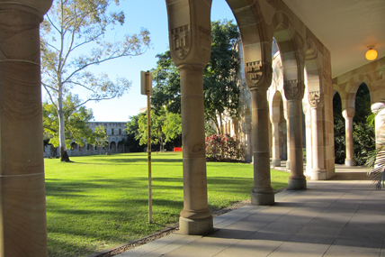 The Great Court, St Lucia campus